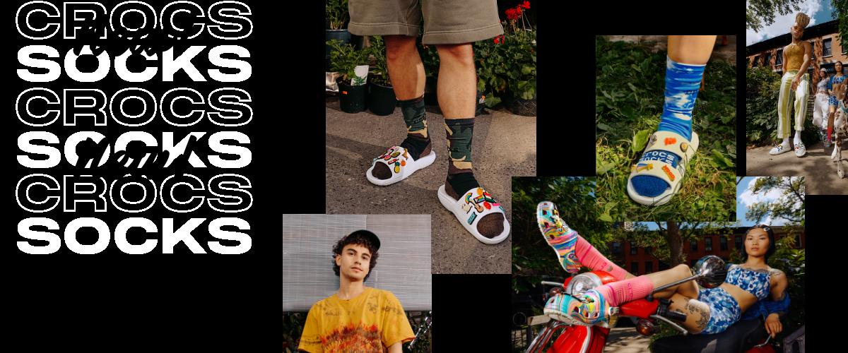 Crocs Socks.