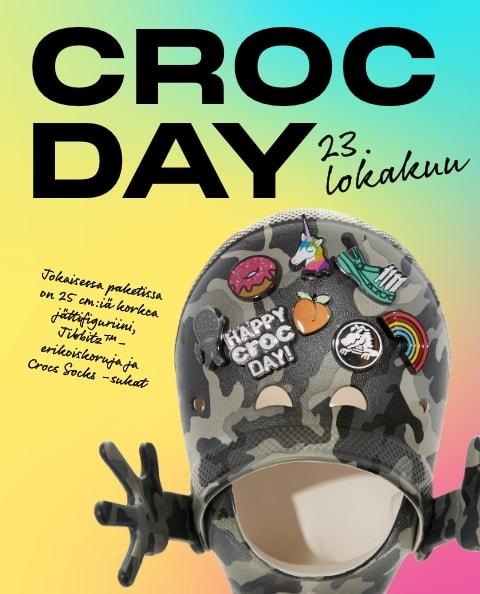 Crocs Day Figruine with assorted Jibbitz™