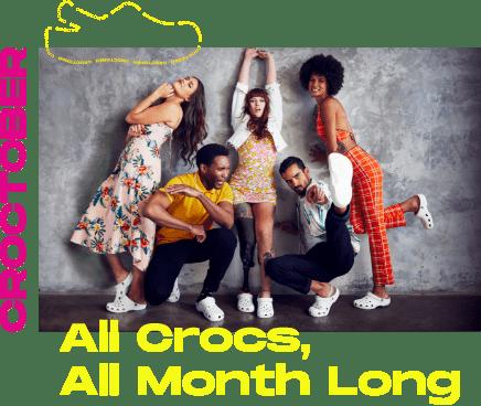 Croctober. All Crocs, All Month Long. - Desktop