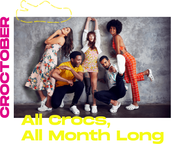 Croctober. All Crocs, All Month Long. - Mobile