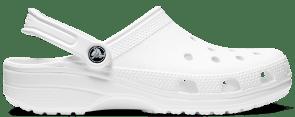 Crocs Classic Clog in White.