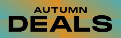 Autumn Deals - Promotional Text