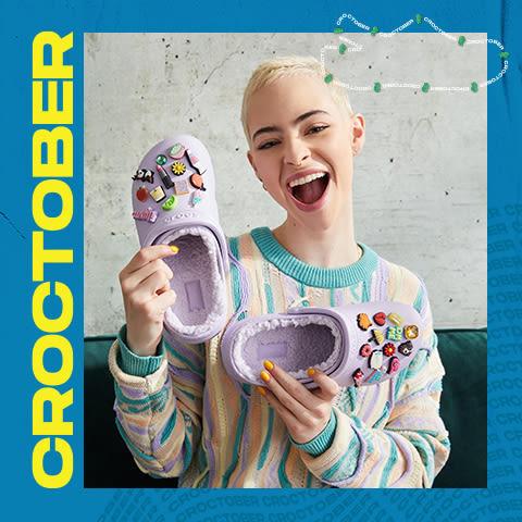 クロックス Croctoberをお祝いしましょう